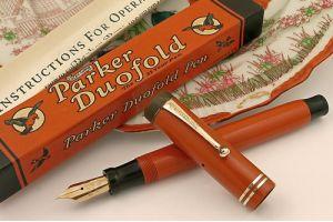 Parker Duofold - прорыв в истории американского производителя ручек