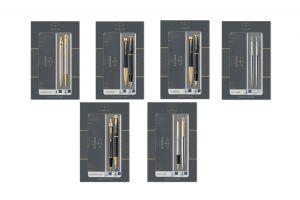 Шесть подарочных наборов Parker Duo в магазине Parker Club! Самые популярные модели: Jotter, IM и Urban.