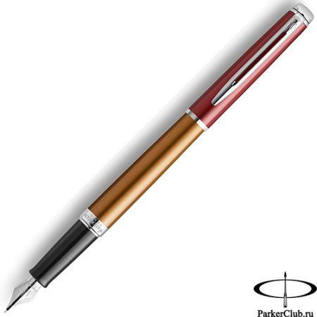 Перьевая ручка Waterman (Ватерман) Hemisphere Brown SE CT F