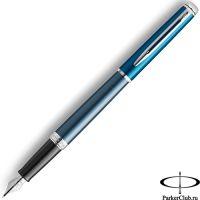 2118237 Перьевая ручка Waterman (Ватерман) Hemisphere Blue SE CT F