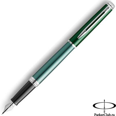 Перьевая ручка Waterman (Ватерман) Hemisphere Green SE CT F