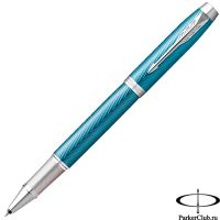 2143648 Ручка-роллер Parker (Паркер) IM Premium Blue Grey CT