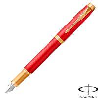 2143650 Перьевая ручка Parker (Паркер) IM Premium Red GT F