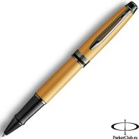 2119259 Ручка-роллер Waterman (Ватерман) Expert DeLuxe Metallic Gold RT