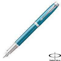 2143651 Перьевая ручка Parker (Паркер) IM Premium Blue Grey CT F