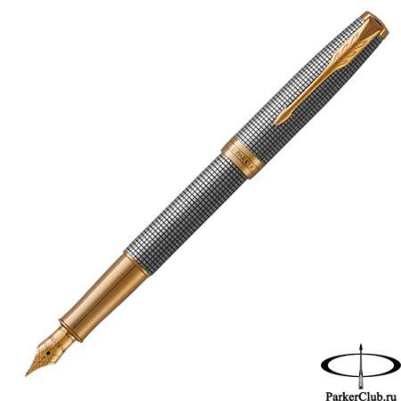 Перьевая ручка Parker (Паркер) Sonnet Cisele Silver GT F