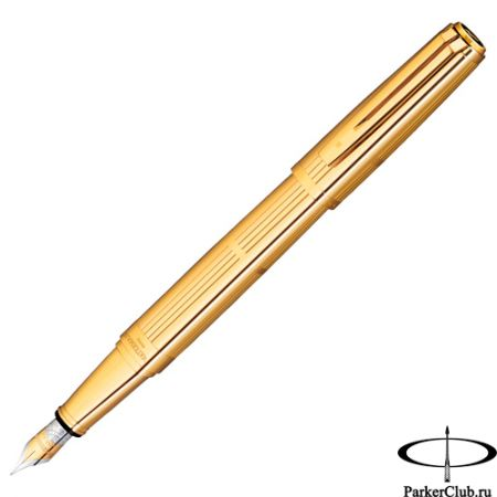 Перьевая ручка Waterman (Ватерман) Exception Solid Gold F