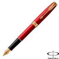 1931473 Перьевая ручка Parker (Паркер) Sonnet Core Red Lacquer GT F