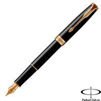 1931494 Перьевая ручка Parker (Паркер) Sonnet Core Black Lacquer GT F