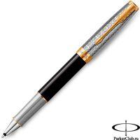 2119786 Ручка-роллер Parker (Паркер) Sonnet Premium Metal Black GT
