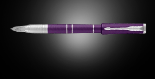Ручка Parker (Паркер) 5th Ingenuity Deluxe Slim Blue Violet CT